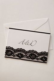 Mantilla Invitation