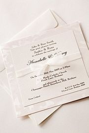Snow Flake Invitation