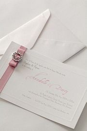 Tiffany Pink Invitation